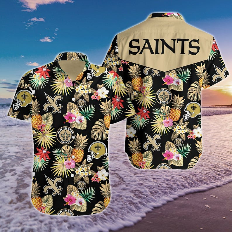 New Orleans Saints NFL Hawaiian Shirt
