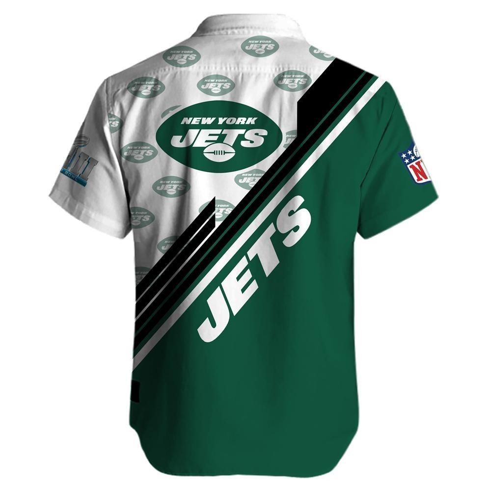 New York Jets NFL Hawaiian Shirt 2