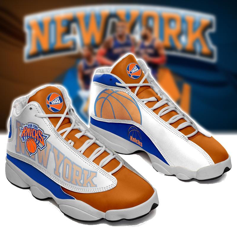 New York Knicks Basketball Form AIR Jordan 13 Sneakers