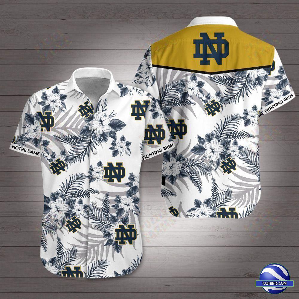 Notre Dame Fighting Irish NCAA Hawaiian Shirt
