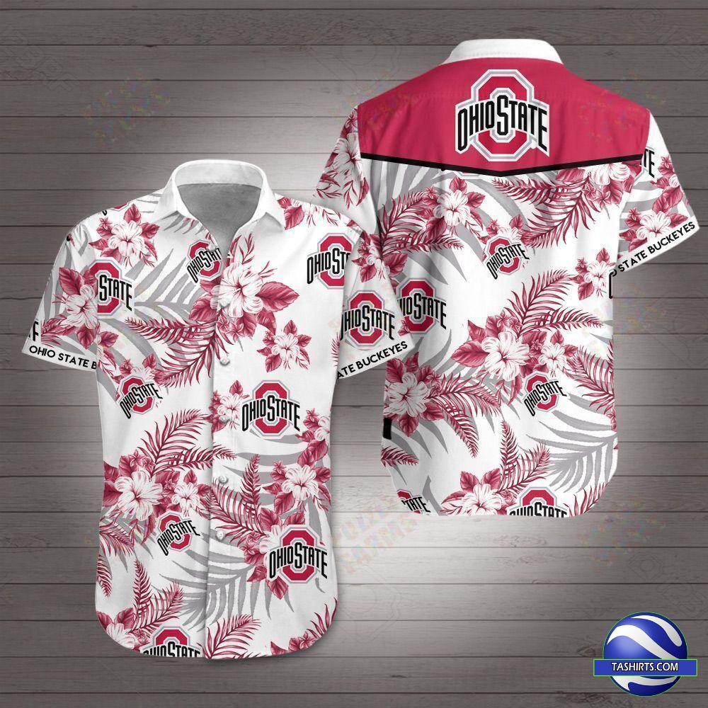 Ohio State Buckeyes NCAA Hawaiian Shirt