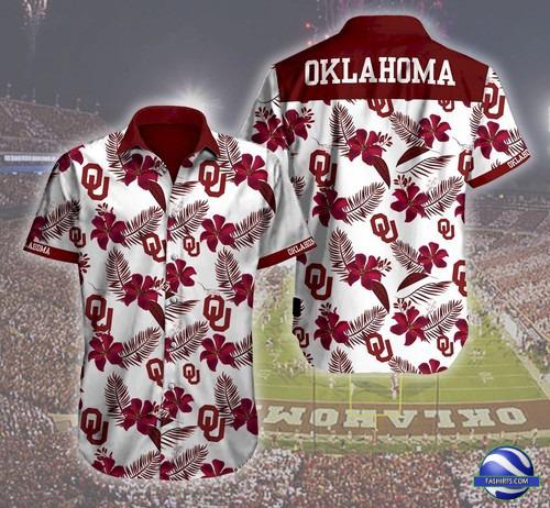 Oklahoma Sooners NCAA Hawaiian Shirt