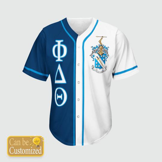 Phi Delta Theta Personalized Baseball Jersey3 1