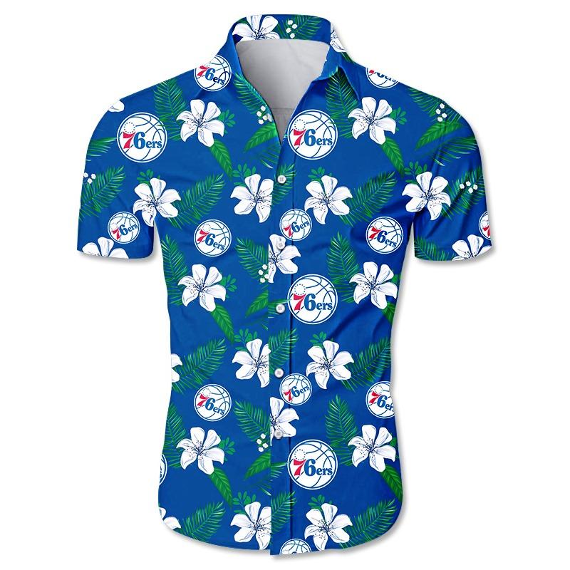 Philadelphia 76ers NBA Hawaiian Shirt