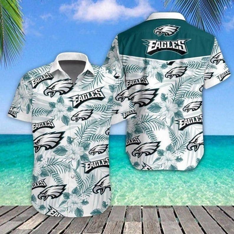 Philadelphia Eagles NFL Hawaiian Shirt