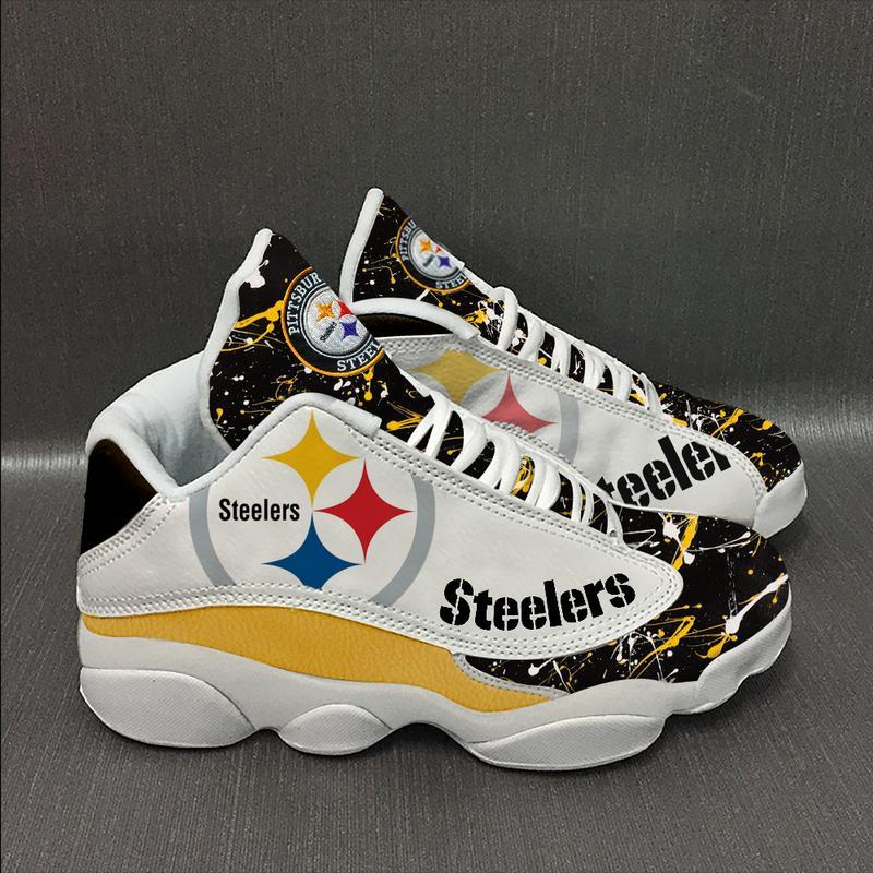 Pittsburgh Steelers football Team Form AIR Jordan 13 Sneakers