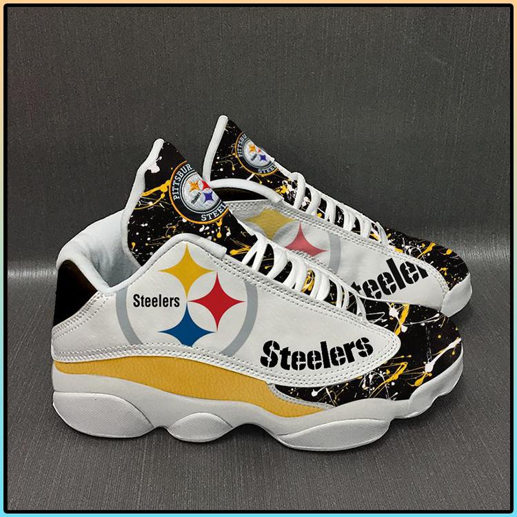 Pittsburgh Steelers football Team Form AIR Jordan 13 Sneakers3
