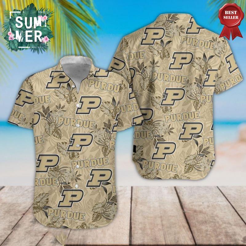 Purdue Boilermakers NCAA Hawaiian Shirt 1