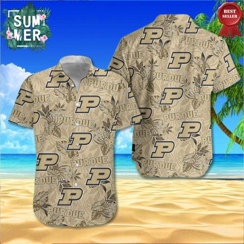Purdue Boilermakers NCAA Hawaiian Shirt