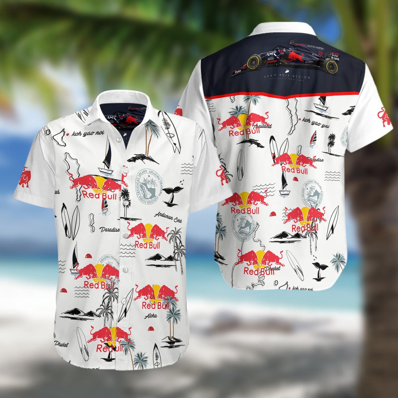 Red Bull Racing F1 Hawaiian Shirt