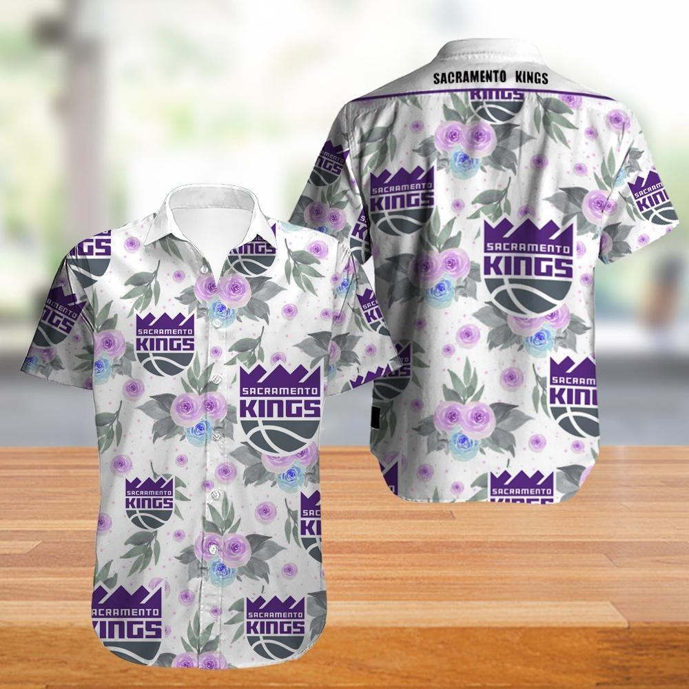 Sacramento Kings NBA Hawaiian Shirt