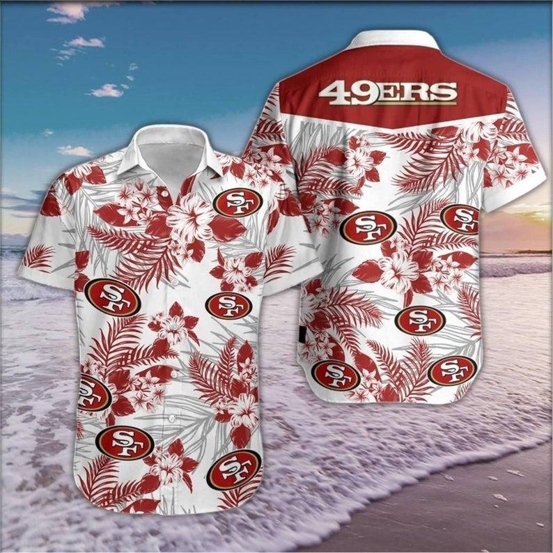 San Francisco 49ers NFL Hawaiian Shirt