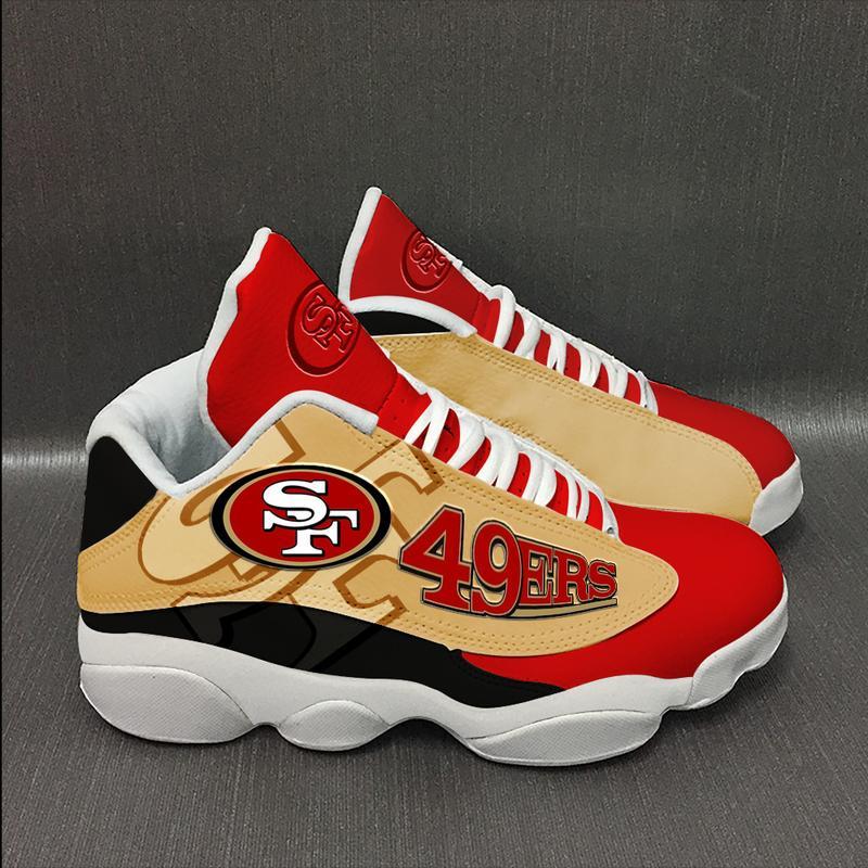 San Francisco 49ers form AIR Jordan 13 Sneakers Football Team Sneakers