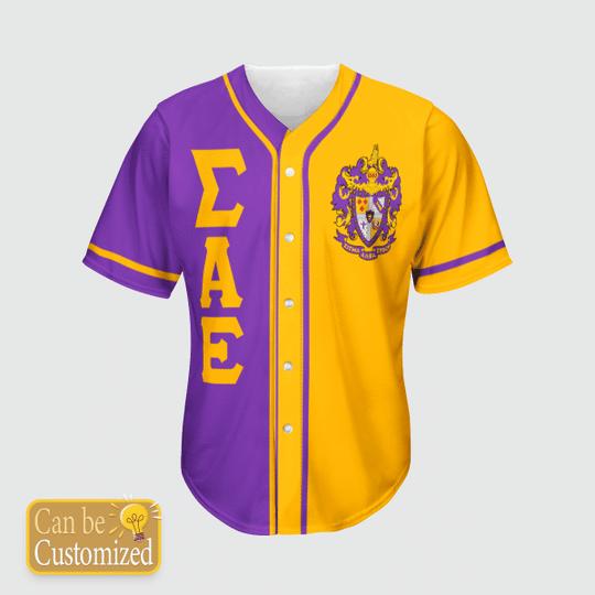 Sigma Alpha Epsilon Personalized Baseball Jersey3 1