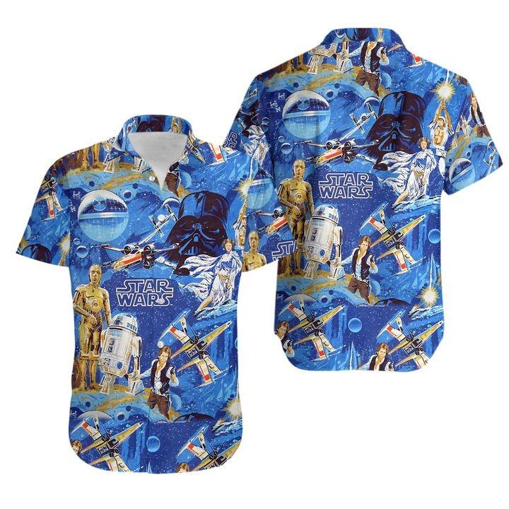 Star Wars Classic 3D hawaiian shirt and hoodie