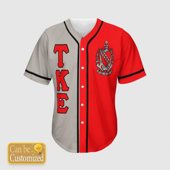 Tau Kappa Epsilon Personalized Baseball Jersey3 1