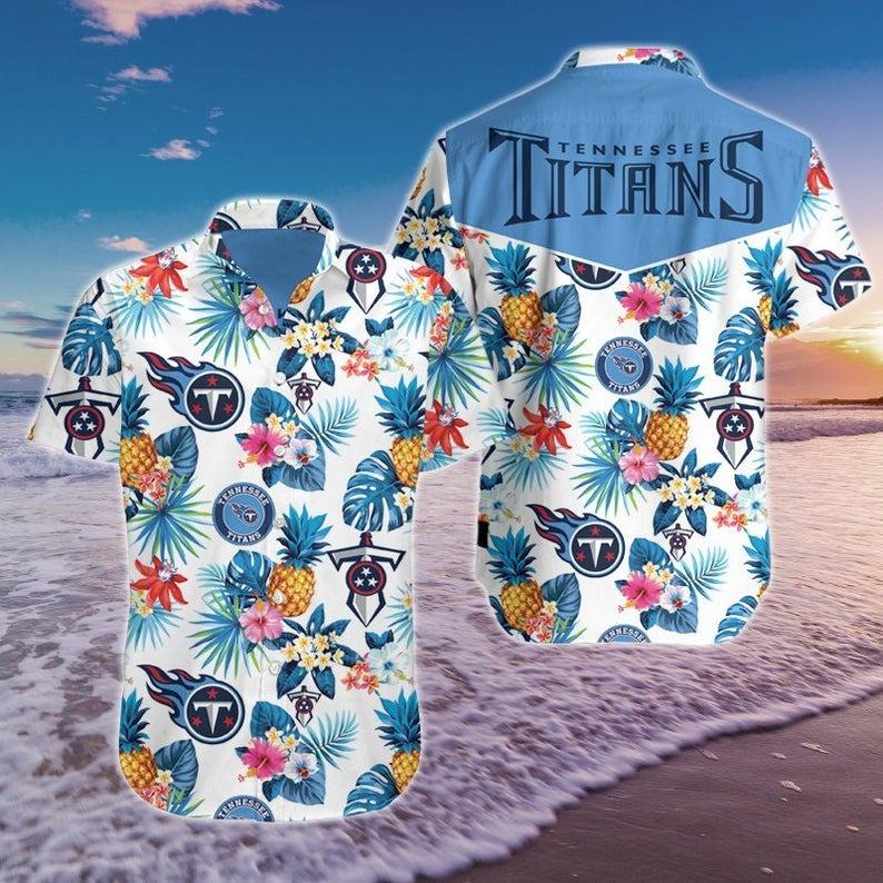 Tennessee Titans NFL Hawaiian Shirt