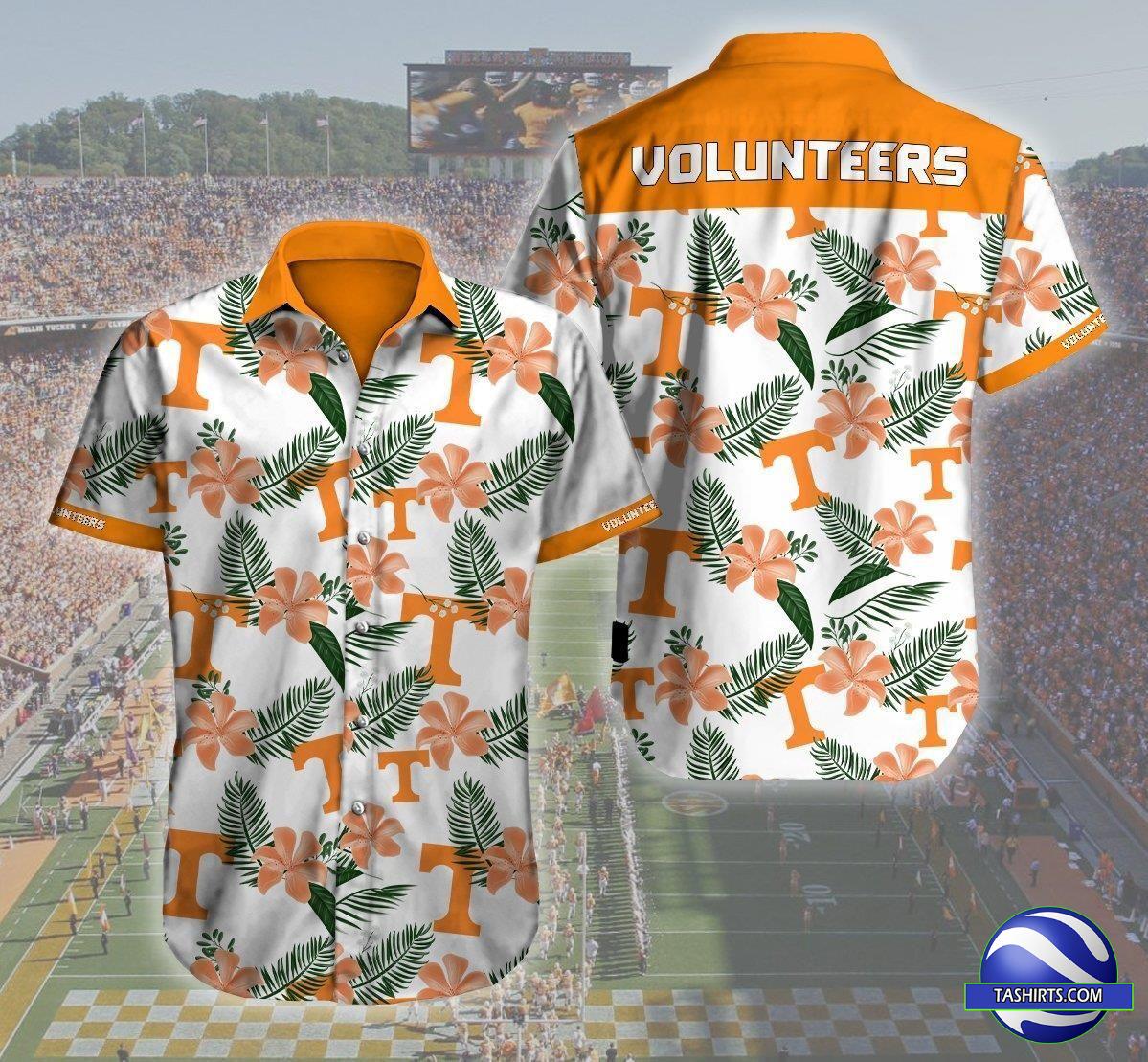 Tennessee Volunteers NCAA Hawaiian Shirt