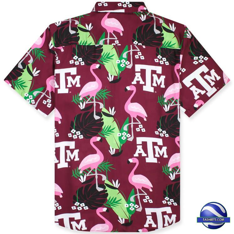 Texas AM Aggies NCAA Hawaiian Shirt 1