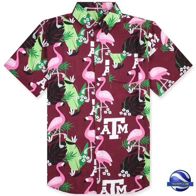Texas AM Aggies NCAA Hawaiian Shirt