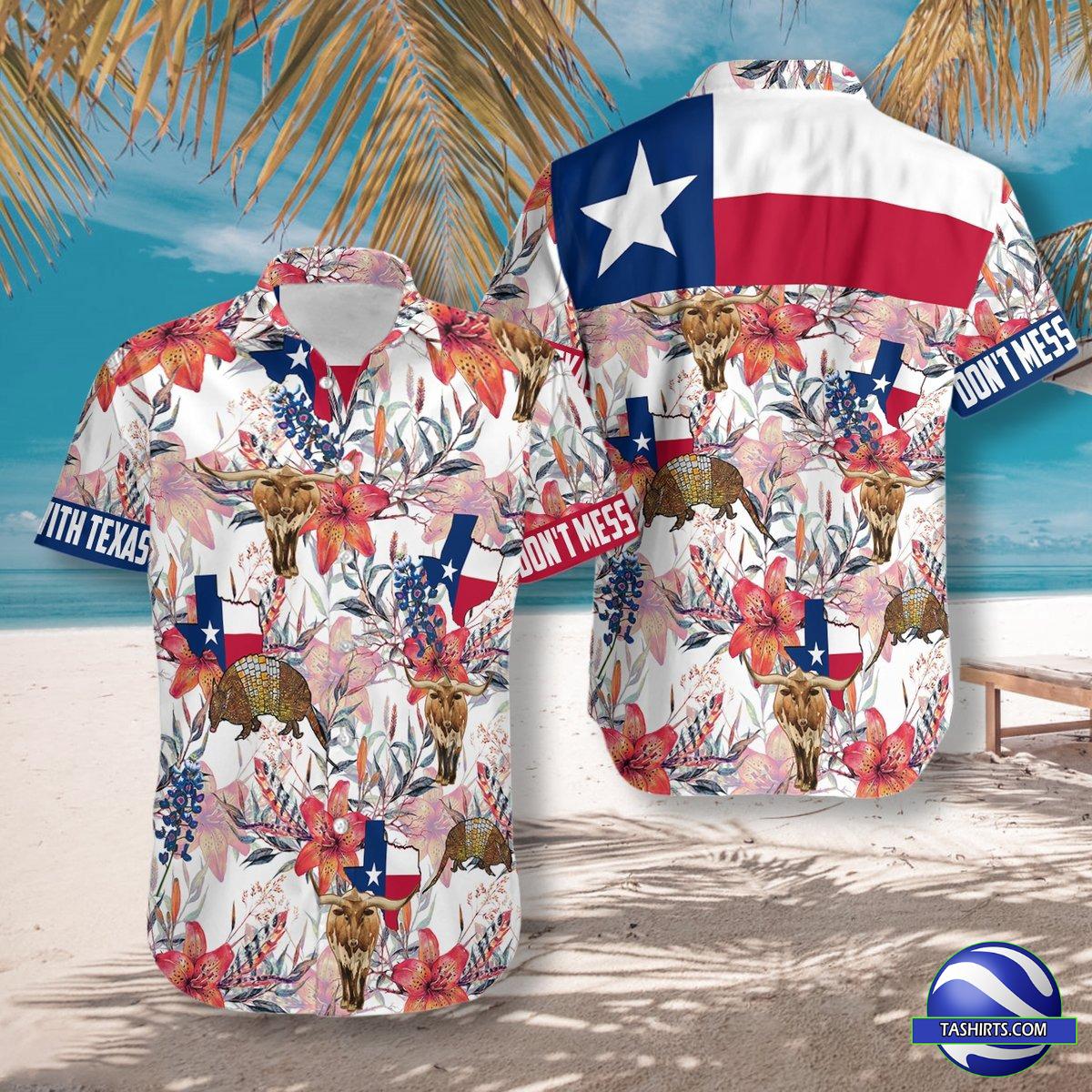 Texas Longhorns NCAA Hawaiian Shirt