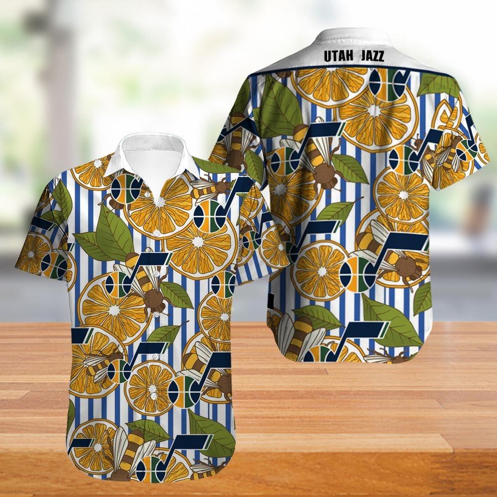 Utah Jazz NBA Hawaiian Shirt