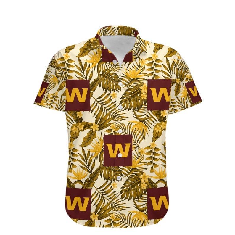 Washington Football Team NFL Hawaiian Shirt 1