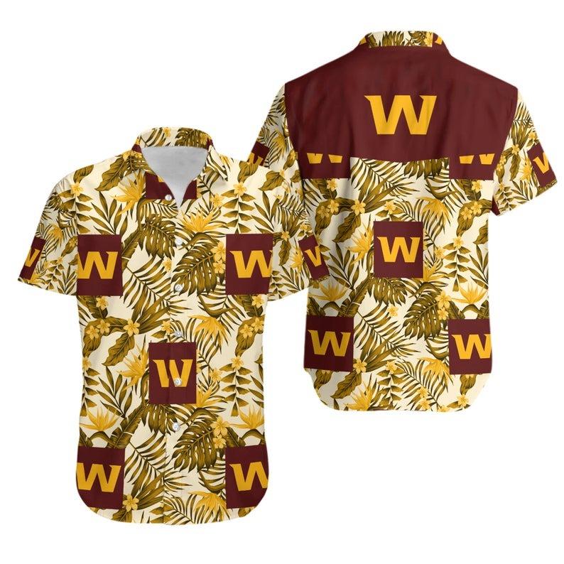 Washington Football Team NFL Hawaiian Shirt