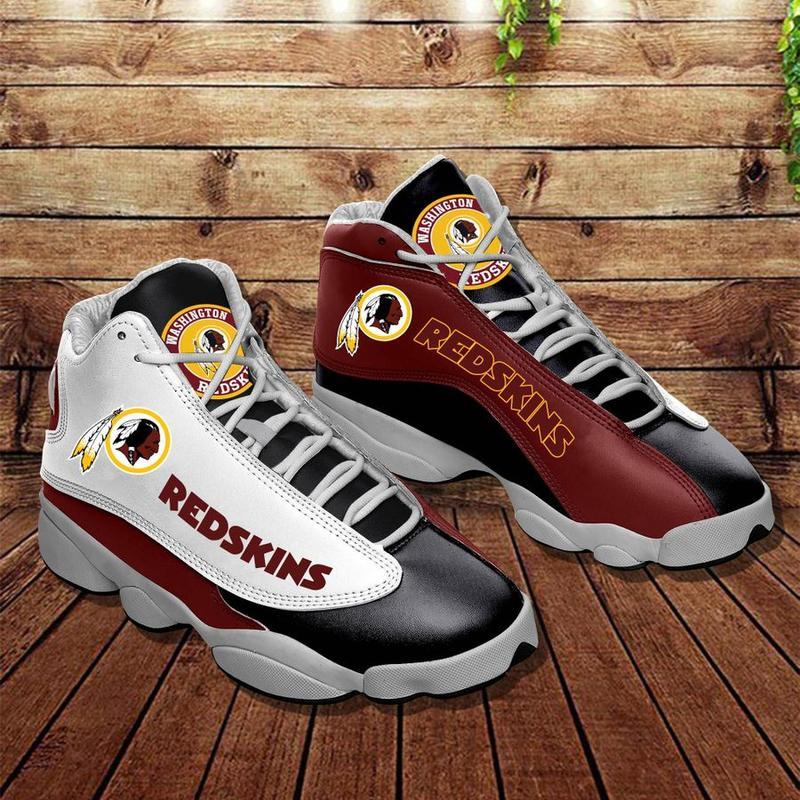 Washington Redskins Form AIR Jordan 13 Sneakers Football Team Sneakers