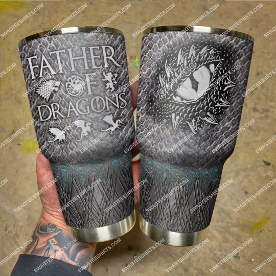 game of thrones father of dragon stainless steel tumbler 21