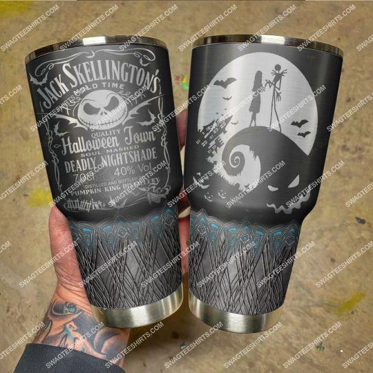 jack skellington mold time and jack daniels old time stainless steel tumbler 21