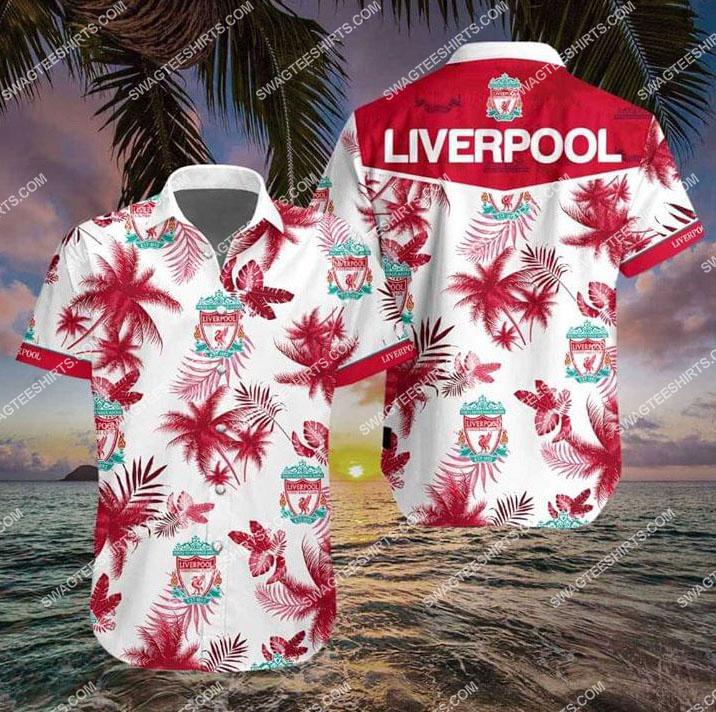 liverpool football club all over print hawaiian shirt 1