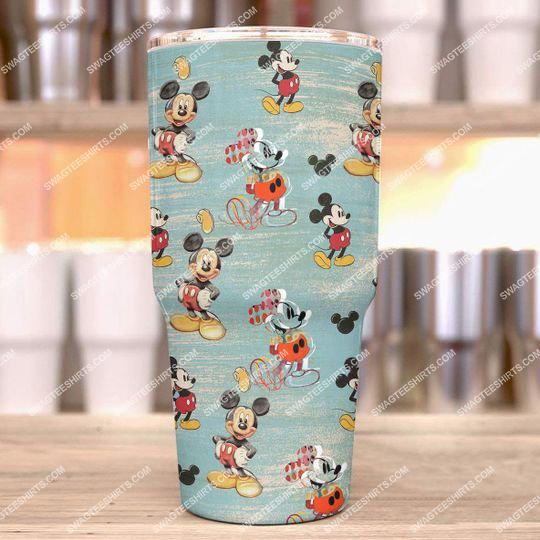 walt disneys animated cartoons mickey mouse stainless steel tumbler 21