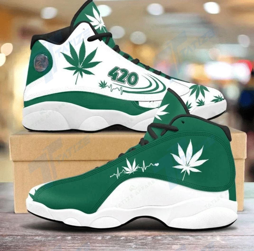 weed hearbeat Air Jordan 13 1