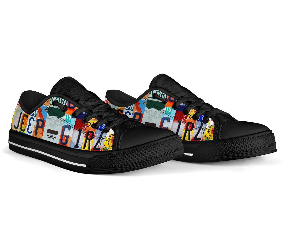 17 Jeep girl low top shoes 4