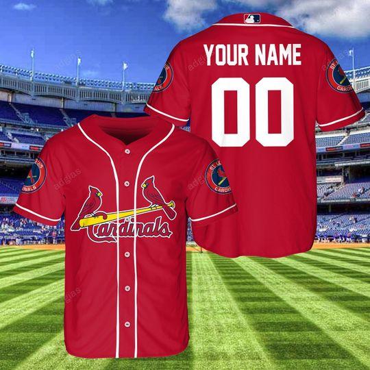 20 Arizona Cardinals custom Personalized baseball Jersey Shirt 1