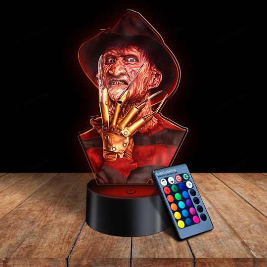 29 Freddy Krueger 3d illusion lamps led night light 1 1