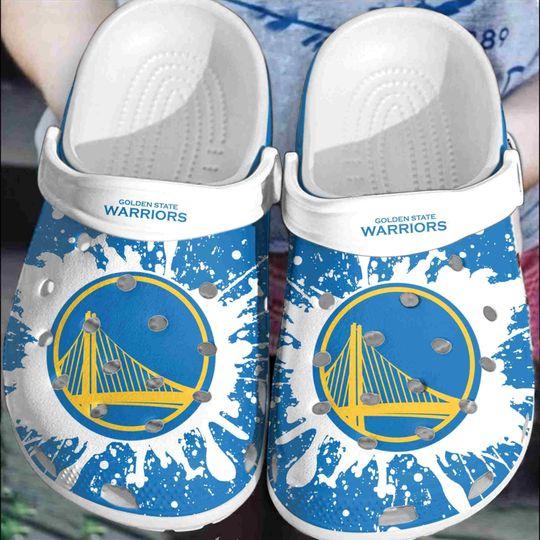 3 Golden State Warriors crocs clog crocband 1
