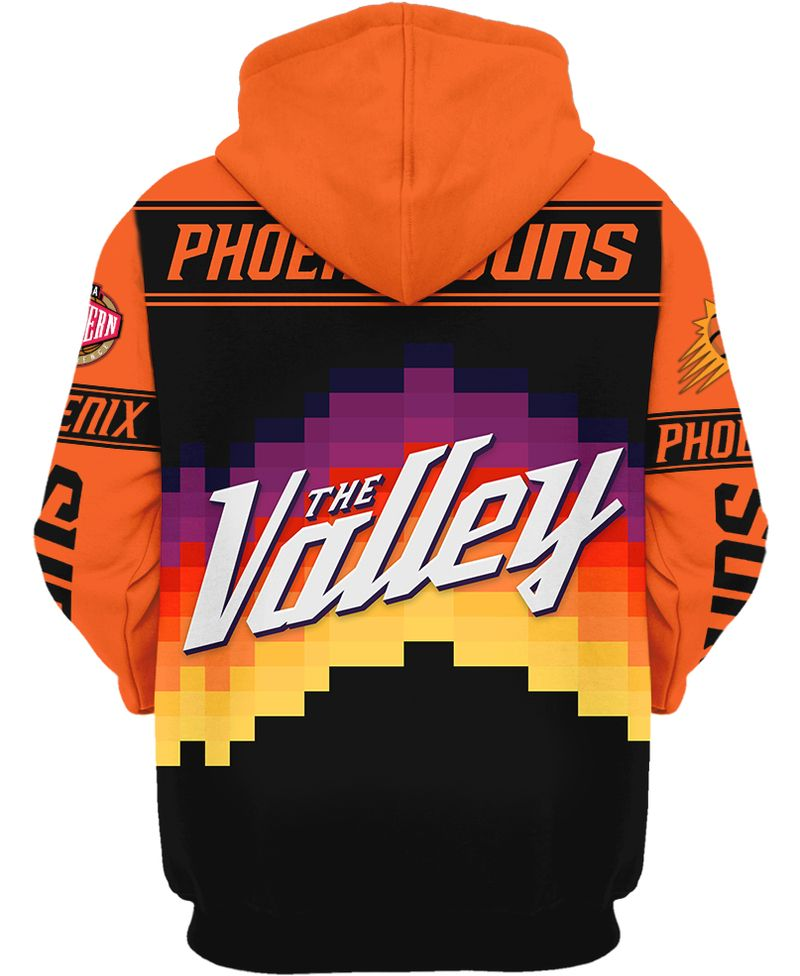 3 Phoenix Suns Western Conference Finals Champion 3d hoodie shirt 2 1
