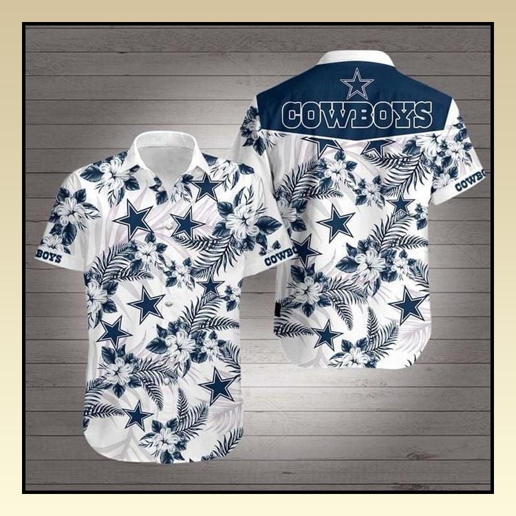 4 Dallas Cowboys Hawaiian Shirt 1