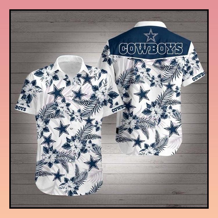4 Dallas Cowboys Hawaiian Shirt 2