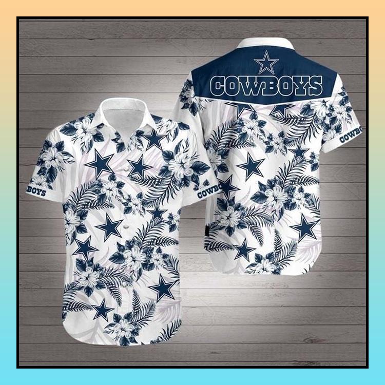 4 Dallas Cowboys Hawaiian Shirt 3