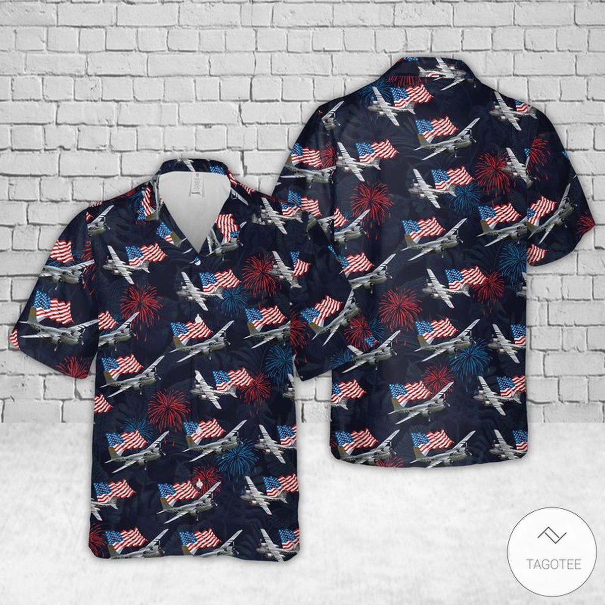 A 26 Invader US Air Force Hawaiian Shirt Beach Shorts