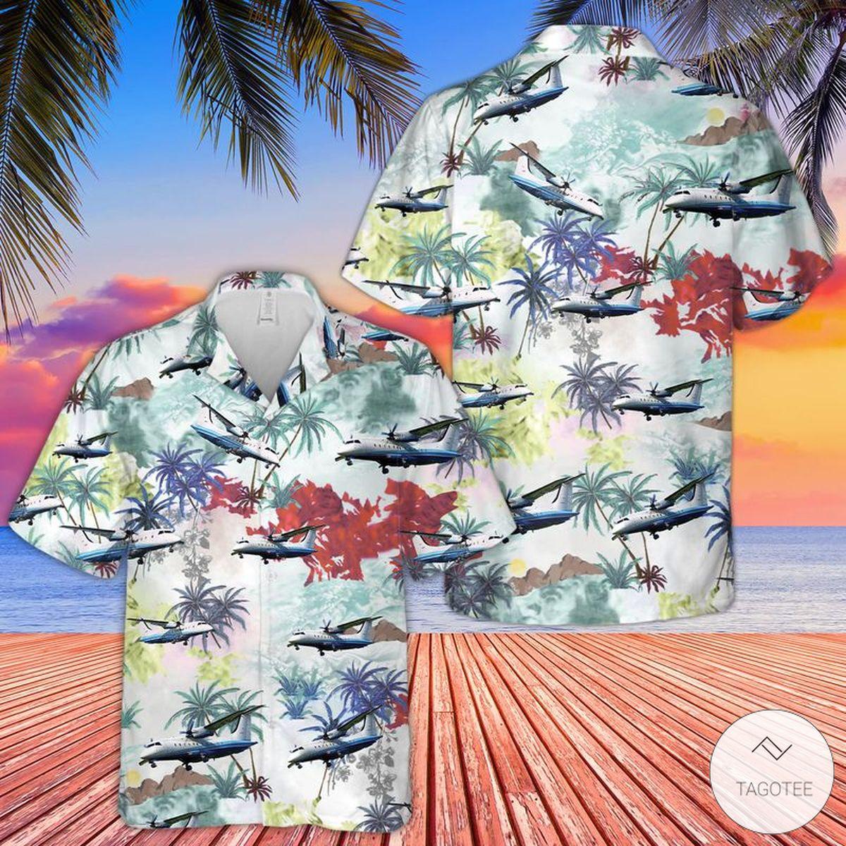 Air Force C 146A Wolfhound Hawaiian Shirt Beach Shorts