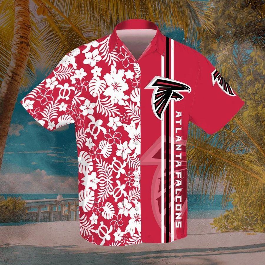 Atlanta falcons nfl football hawaiian shirt