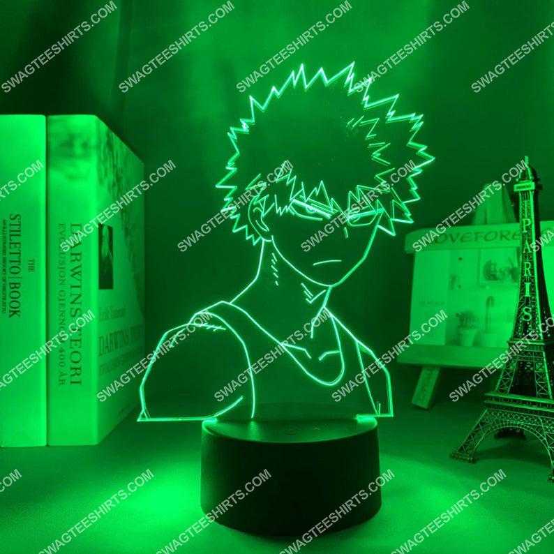 Bakugo katsuki my hero academia anime 3d night light led 21
