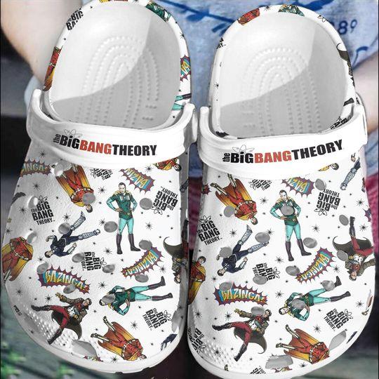 BigBang Theory crocs clog crocband