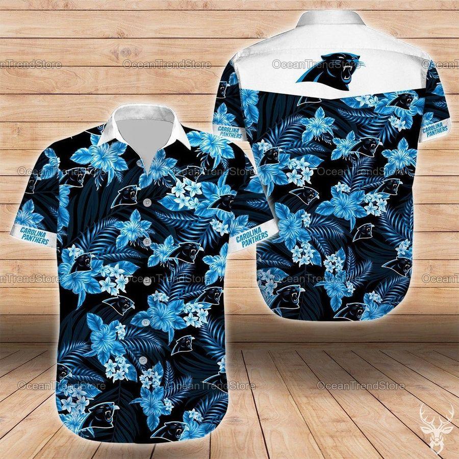Carolina panthers nfl football hawaiian shirt