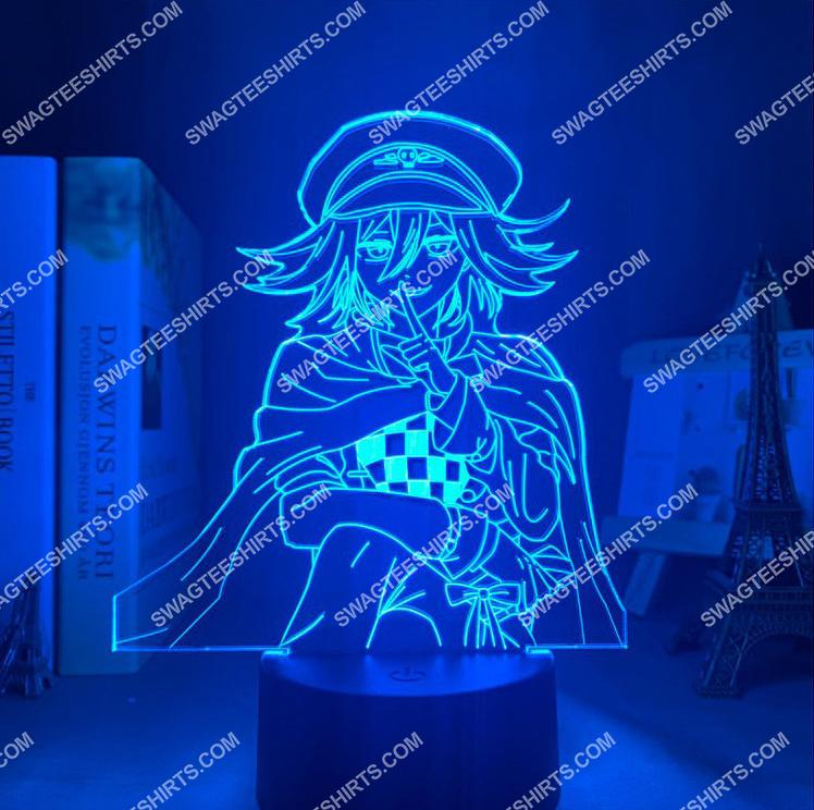 Danganronpa kokichi oma anime 3d night light led 21