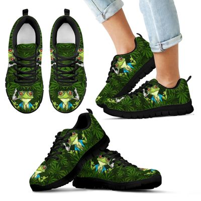 Frog weed style sneakers